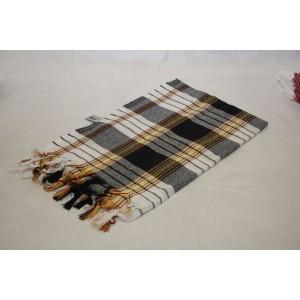 Ręcznik Hamam 170x80 cm - czarny - 100% bawełna