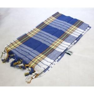 Ręcznik Hamam 170x80 cm - niebieski - 100% bawełna